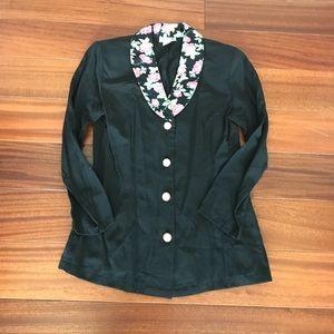 Vintage 90s rose color jacket